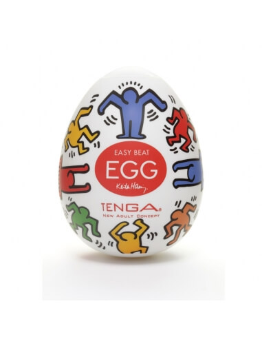 Tenga Egg Dance Keith Haring