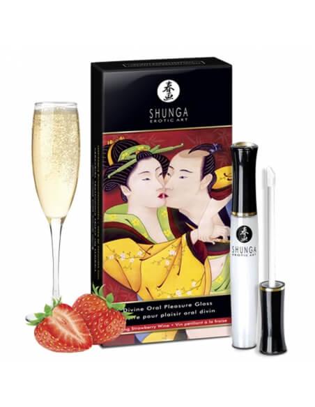 Shunga Gloss Plaisir Oral Divin fraise