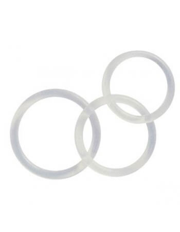 Lot de 3 Cockrings en Silicone