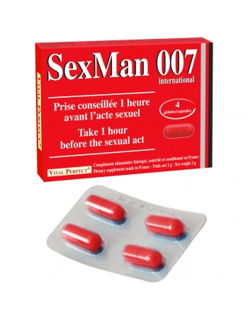 SexMan 007 x4