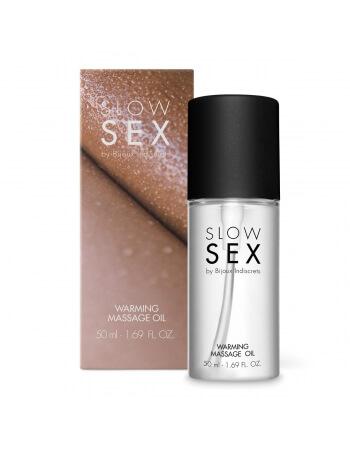 Huile de massage chauffante Slow Sex
