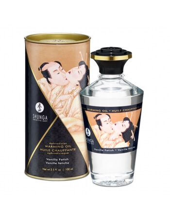 Huile chauffante aphrodisiaque Shunga Vanille