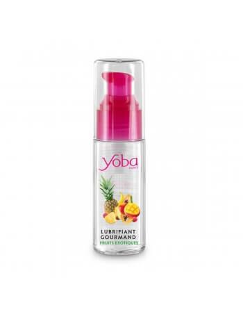 Yoba lubrifiant gourmand Fruits exotiques