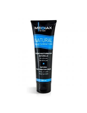 Crème de masturbation Mediax Natural