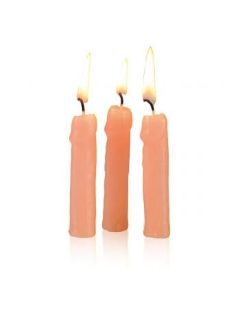 6 bougies pénis