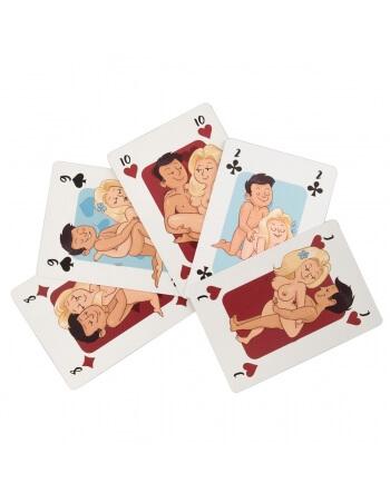 Jeu de 54 cartes Kama Sutra