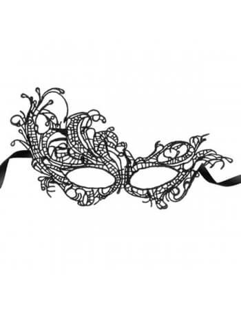 Masque en guipure noire Aurore