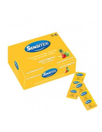 Préservatifs Sensitex Tutti Frutti x 144