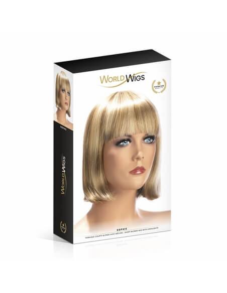 Perruque Sophie blonde méchée