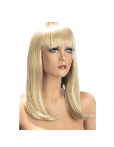 Perruque blonde Emma long