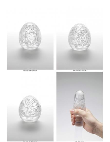 Tenga Egg Dance Keith Haring