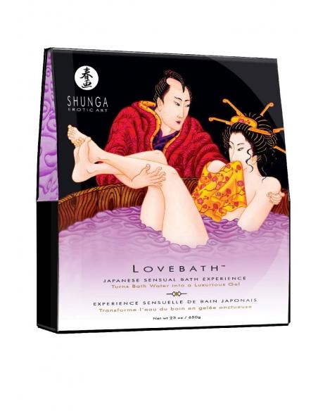 Gelée Shunga Lotus sensuel